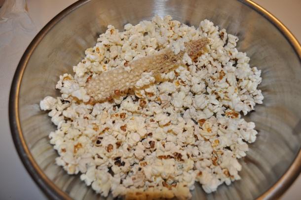Popcorn from scratch