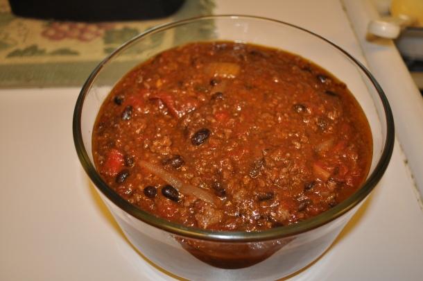 leftover chili