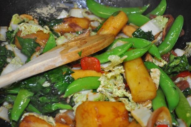 eat local venison loin, clarks elioak and spring pics 020