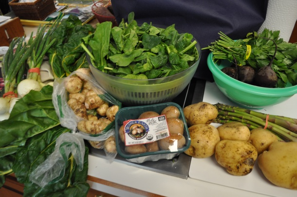 food bank and csa week 1 022